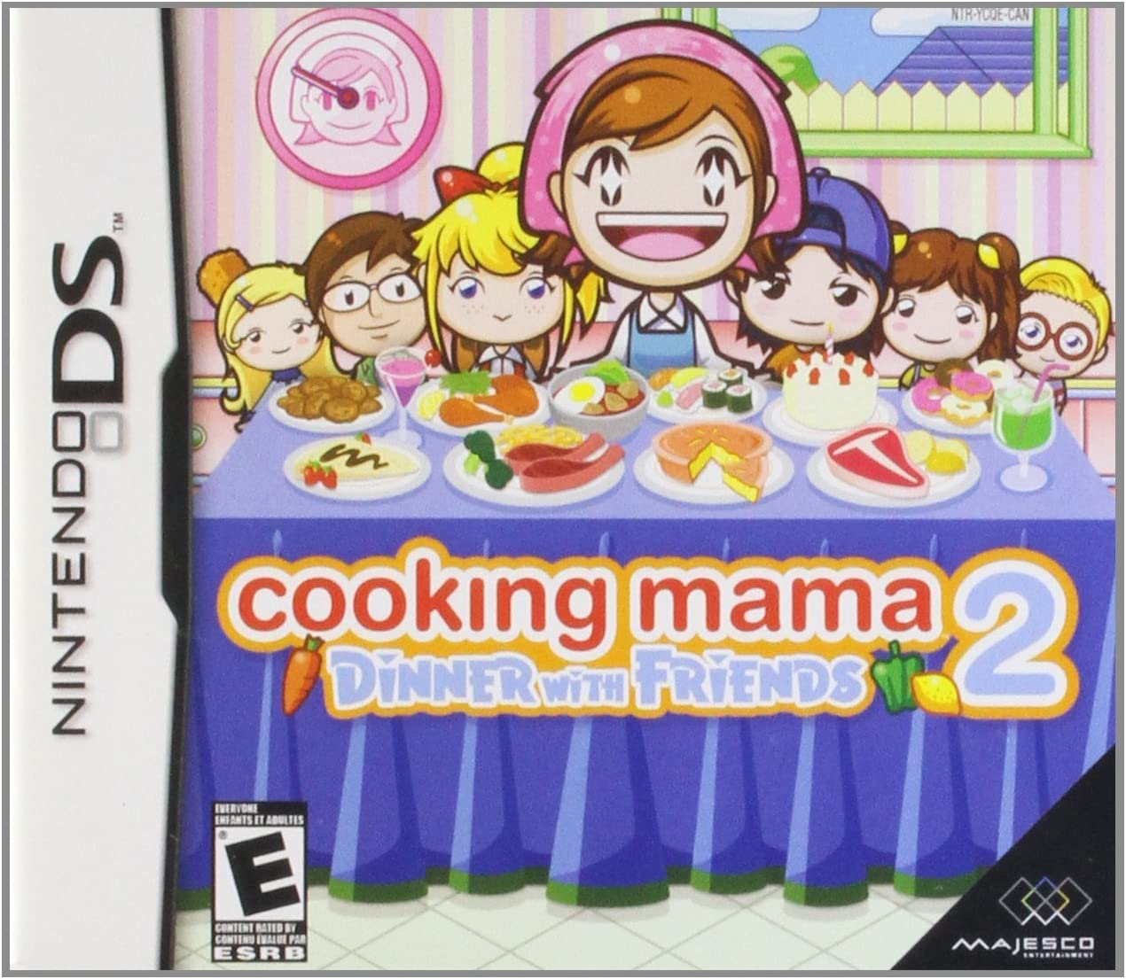 Amazoncom Cooking Mama 2 Dinner With Friends Nintendo DS