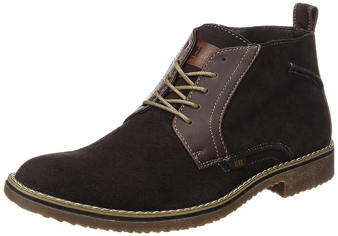 XTI 047107, Zapatos de Cordones Derby para Hombre, Marrón (Brown), 43 EU