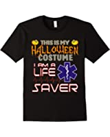 halloween costume life saver shirt