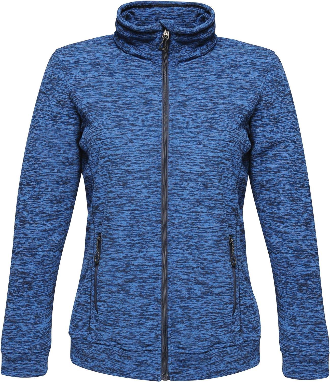 Regatta Damen Professional Womens Thornly Full Zip Quick Drying Marl Fleece