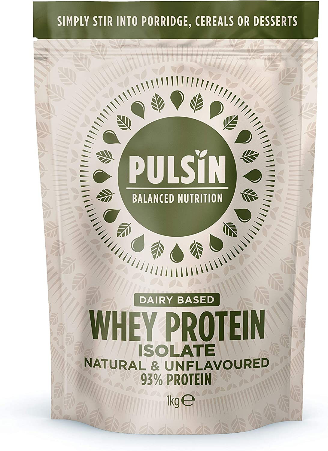Pulsin Natural Whey Protein (1kg)