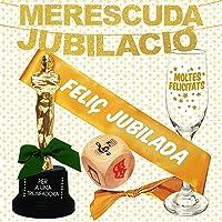 Inedit Festa - Fiesta Jubilación - Guirnalda - Banda Honorífica y Figura Feliç Jubilació