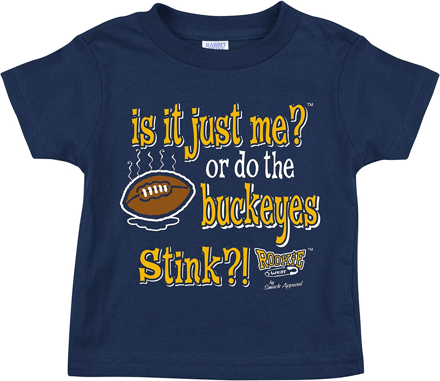 is It Just Me!? Navy Onesie Smack Apparel Michigan Football Fans or Toddler Tee 2T-4T NB-18M