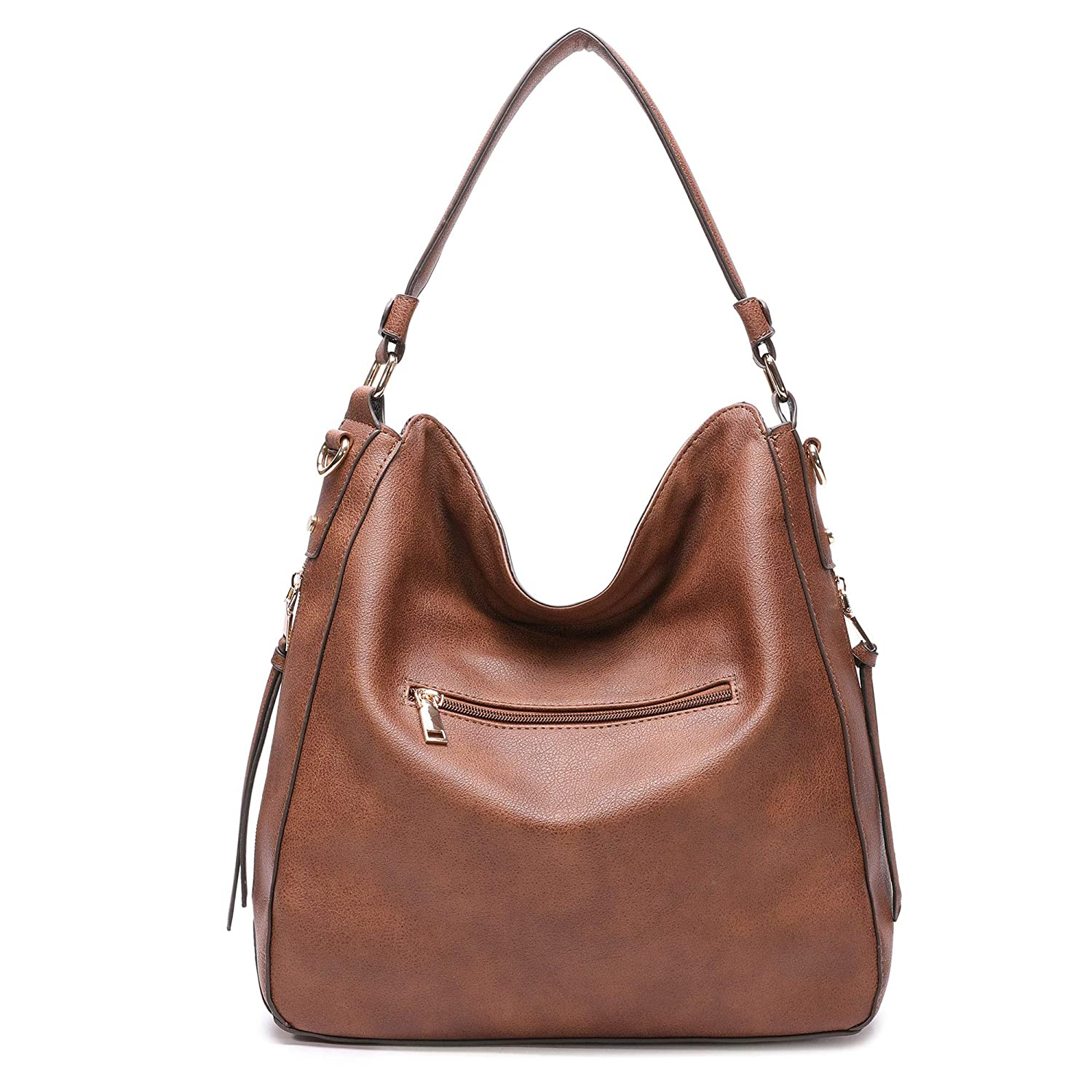 DDDH New Vintage Hobo Handbags Shoulder Bags Durable Leather Tote Messenger  Bags Bucket Bag for Women Ladies Girls(Brown)  Amazon.ca  Luggage   Bags a70b4ab2bb084