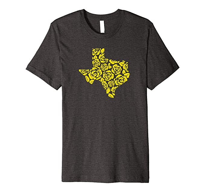 Amazon Yellow Rose Of Texas Pattern Shirt In Heather Colors