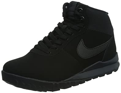 NIKE Hoodland Suede Mens Shoes BlackAnthracite 654888090 8 DM