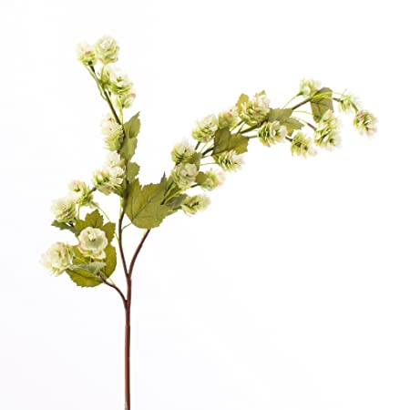 Artplants Artificial Hops Spray Green 3 Ft 100 Cm Plastic Hops