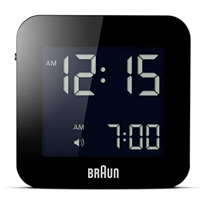 Braun LCD Reisewecker BNC008BK