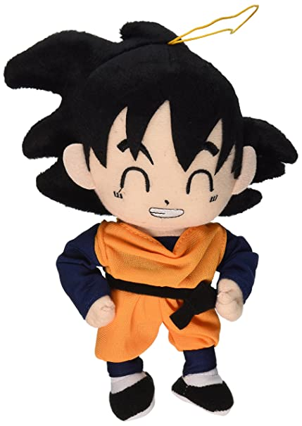amazon com great eastern dragon ball z 7 5 goten plush toys games