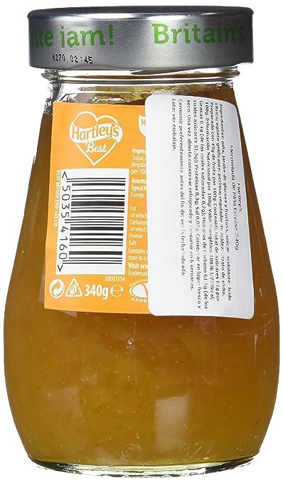 Hartleys Mermelada de Piña - Paquete de 6 x 340 gr - Total: 2040 gr: Amazon.es: Alimentación y bebidas