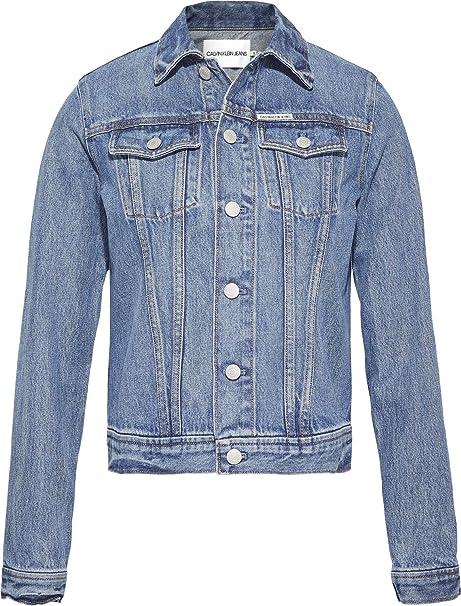 CK Jeans - Chaqueta - para Hombre Azul Lyon Blue M: Amazon.es: Ropa y accesorios