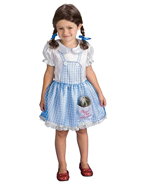 Wizard Of Oz Dorothy Child Costume Size 2T-4T Toddler  sc 1 st  Amazon.com & Amazon.com: Wizard Of Oz Dorothy Child Costume Size 2T-4T Toddler ...