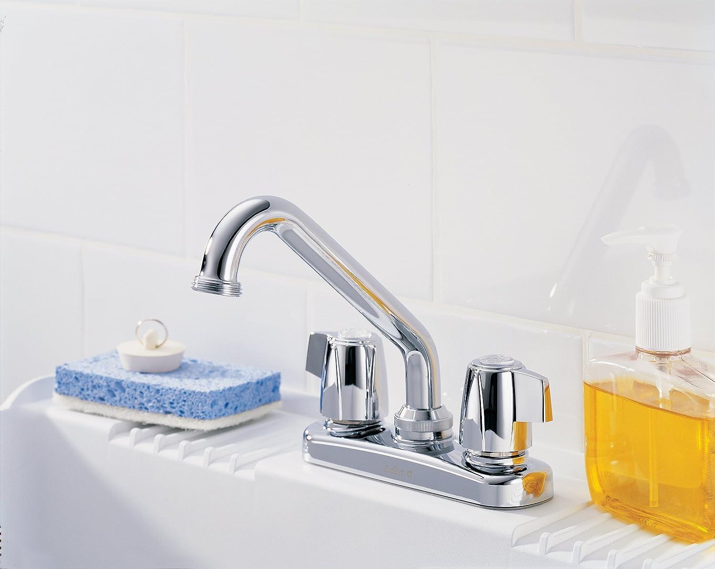 Popular Delta Faucet Classic Two Handle Laundry Faucet Chrome Utility Sink Faucets Amazon
