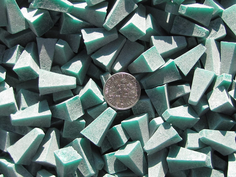 8 Lb General Purpose 3//8 X 3//8 Cones Plastic Tumbling Tumbler Tumble Dark Green Media X