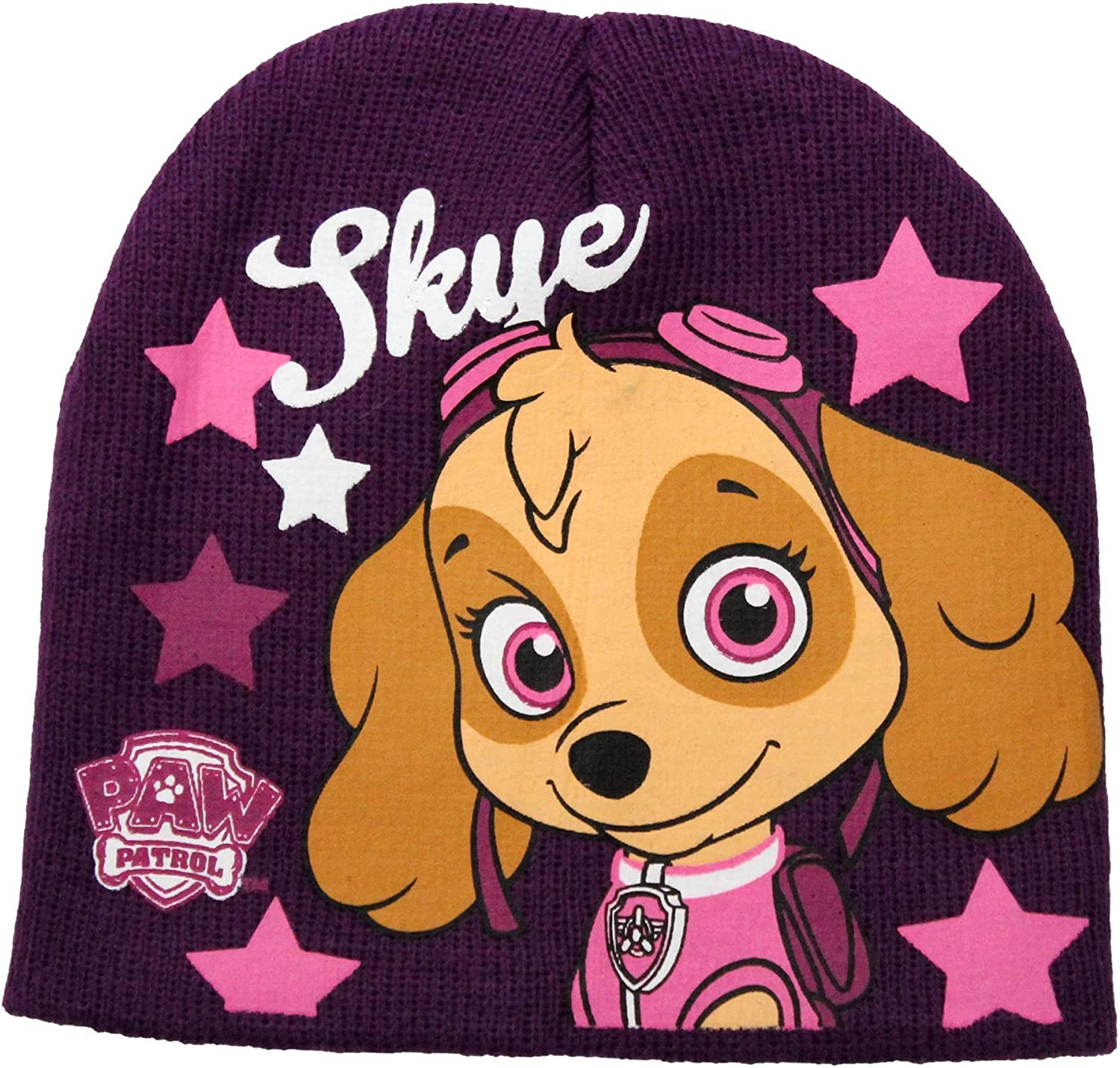 Paw Patrol Girls Skye Winter Beanie Hat By BestTrend