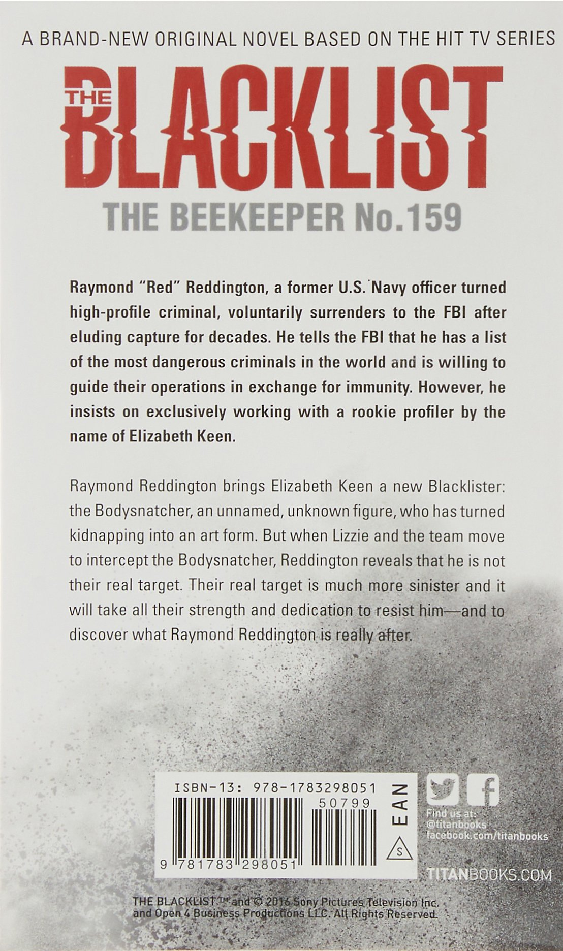 Amazon com: The Blacklist - The Beekeeper No  159