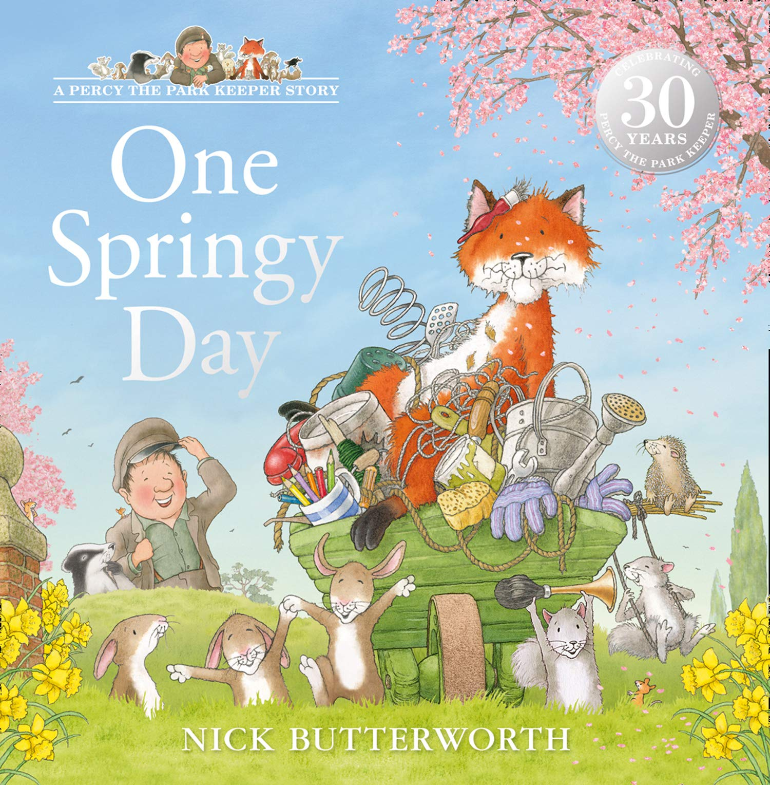 One Springy Day (A Percy the Park Keeper Story): Amazon.co.uk ...