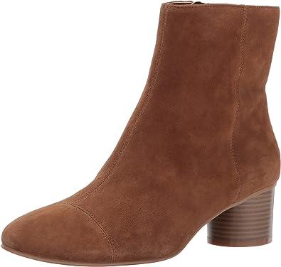 NINE WEST Women's IEVA Suede Ankle Boot