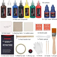 Easesec 25-Pieces Professional Vinyl Leather Repair Kit