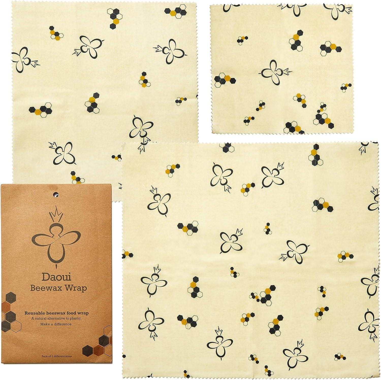 Envoltorio ecológico de cera de abeja para alimentos, reutilizable ...