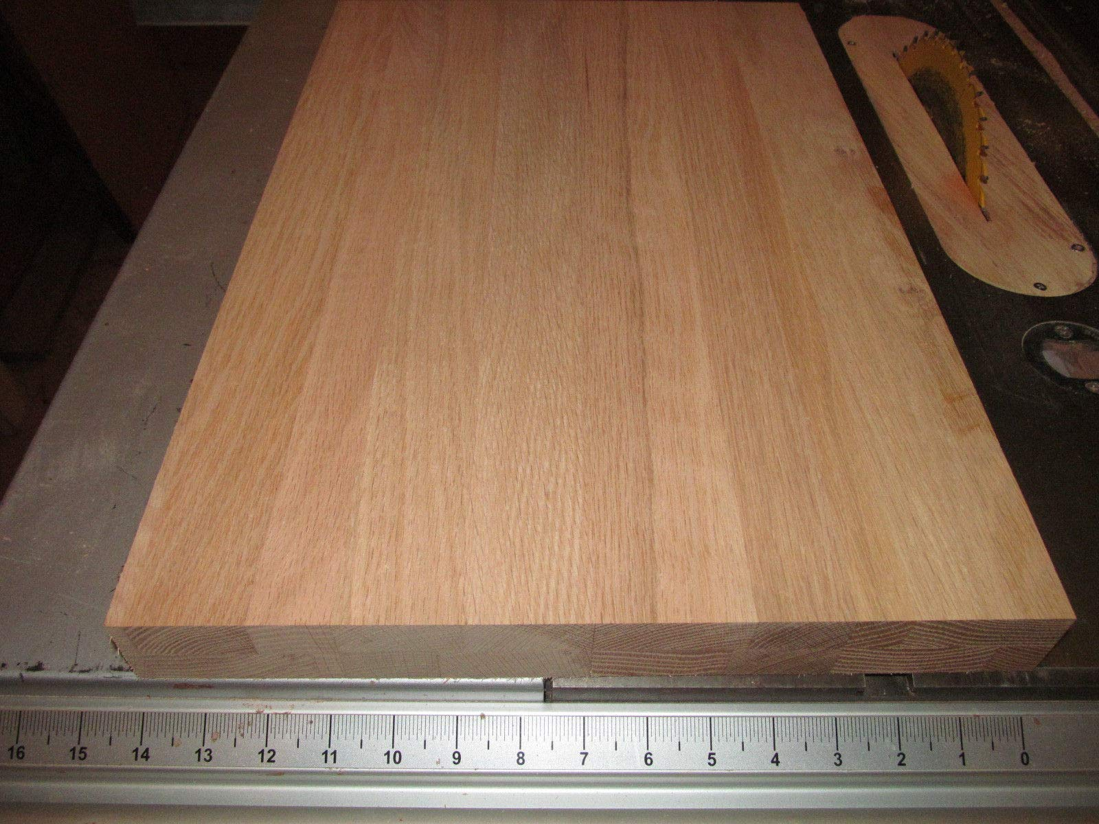 Wide Sanded KILN Dried Thick RED Oak Panels 14 X 21 X 1 5/8''