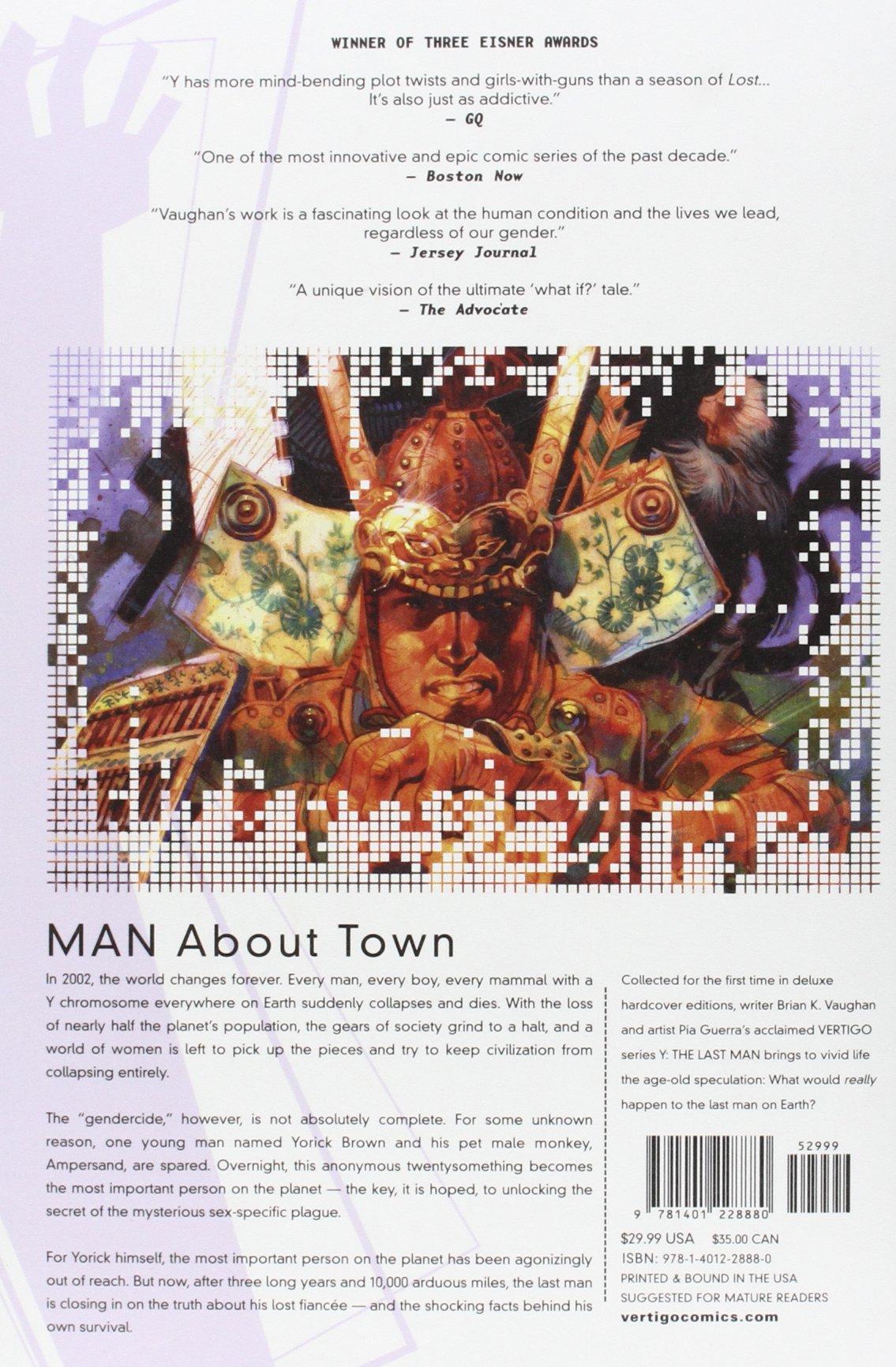Y: The Last Man, Book 4, Deluxe Edition (Last Man Deluxe): Brian K.  Vaughan, Pia Guerra: 9781401228880: Amazon.com: Books