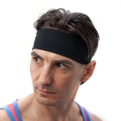 Red Dust Active Mens Sweatband Headband - Guys Workout Head Tie - Great for  Tennis e90cc0e20e8