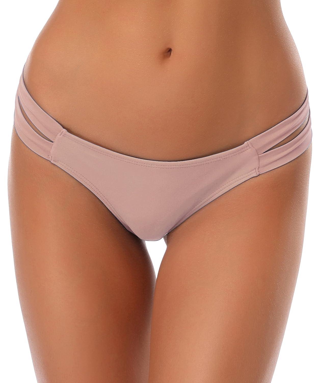 SHEKINI Mujer Bikini Bottom Swimwear Baño