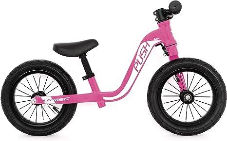 MSC Bikes 18KIDPUSHPK12 Bicicleta Push Bike T-12 Pink, Bebés ...