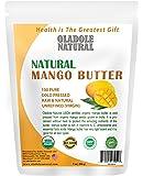 Oladole Natural Organic RAW Mango Butter USDA Certified, Cold Pressed, Unrefined Premium Grade Raw Pure Mango Butter…