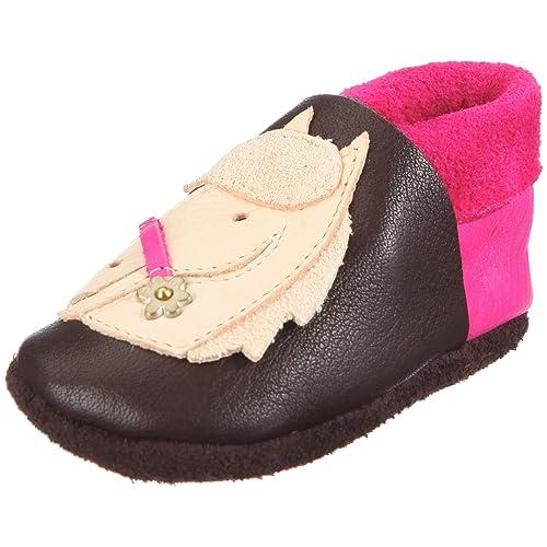 Pololo Polly braun - Zapatillas de casa niña: Amazon.es: Zapatos y complementos