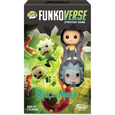 Funko Pop! Funkoverse Strategy Game: Rick & Morty 100 - Expandalone in Spanish: Toys & Games