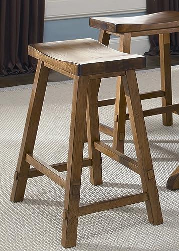 Liberty Furniture Industries Creations II 24 Inch Sawhorse Barstool