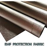 Faraday Fabric, EMF Protection Fabric, EMI, RF & RFID Shielding Nickel Copper Fabric, Cell, WiFi & Bluetooth Blocking/Militar