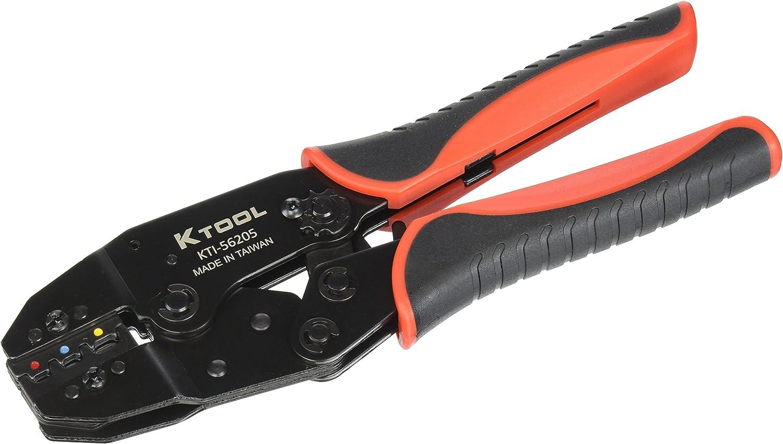 8.7 K Tool International KTI KTI56205 Ratcheting Terminal Crimper