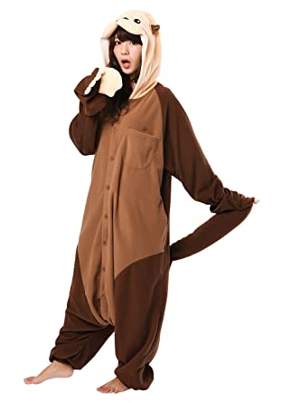 8513720ee983 Amazon.com: Sea Otter Kigurumi - Adults Costume: Clothing