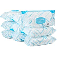 Amazon Elements Baby Wipes, Unscented, 720 Count, Flip-Top Packs