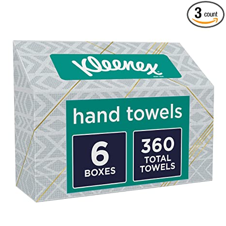 Amazon com: Kleenex Hand Towels: Kitchen & Dining