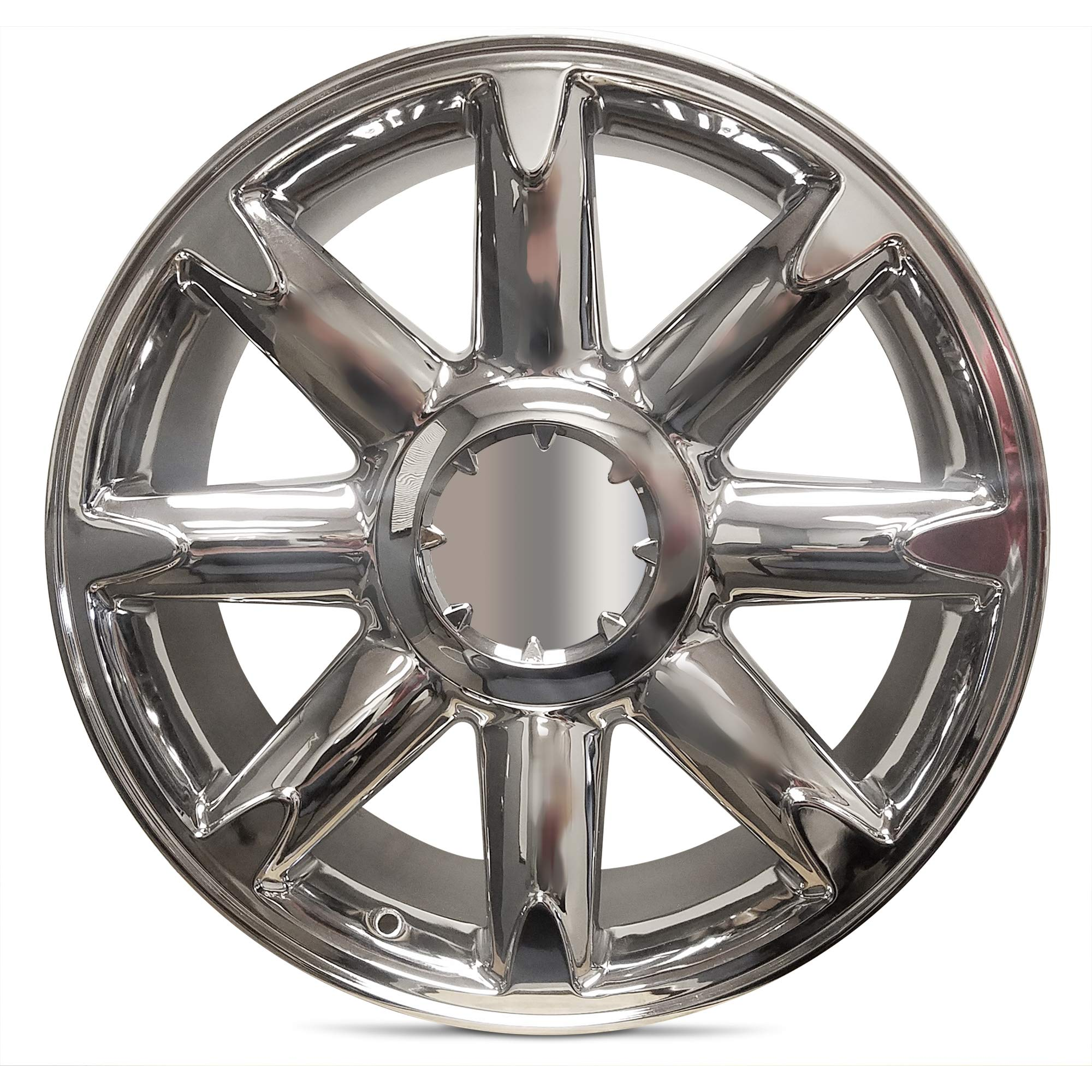 Road Ready Car Wheel For 2007-2013 GMC Sierra 1500 2007-2014 GMC Yukon 20 Inch 6 Lug chrome Aluminum Rim Fits R20 Tire - Exact OEM Replacement - Full-Size Spare by Road Ready Wheels