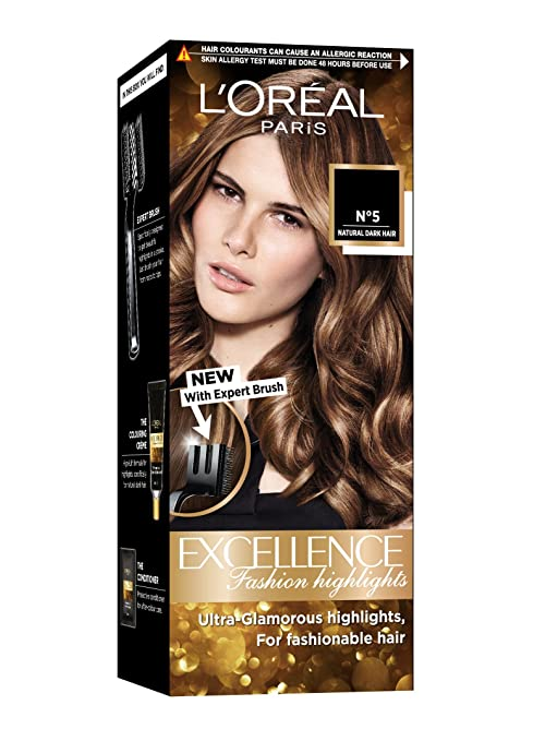 Buy Loreal Paris Excellence Fashion Highlights Hair Color Honey