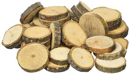 Decorazioni In Legno Per La Casa : Rondelle di legno per decorazione Ø cm a cm amazon