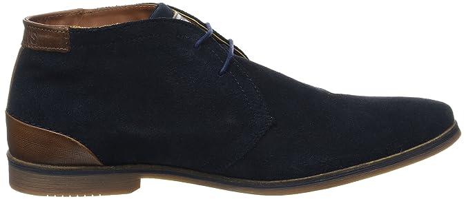 Redskins LIMOU2, Zapatos de Cordones Derby para Hombre, Marrn (Taupe+Cognac X3), 43 EU