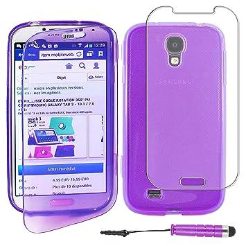 ebestStar - Compatible Funda Samsung S4 Galaxy i9500 i9505 Carcasa Cartera Proteccion Formato Libro, Silicona Gel Case Shock-Absorción + Mini Lápiz, ...