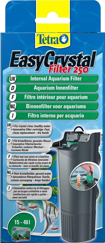 Tetra EasyCrystal 250 Aquarium Internal Filter for Crystal Clear, Healthy Water Inside the Fish Tank: Amazon.es: Productos para mascotas