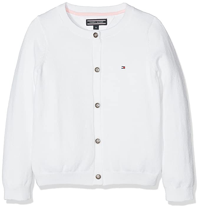 aa24558b Tommy Hilfiger AME Girls Cn Cardigan L/S: Amazon.co.uk: Clothing