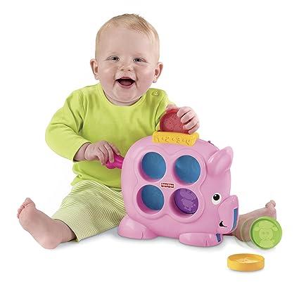 Amazon.com: Fisher-Price Brilliant Basics countin Fun Piggy ...
