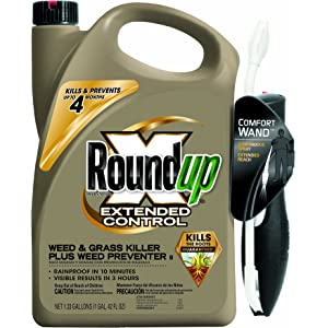 Roundup 5235056 Extended Control Weed and Grass Killer Plus Weed Preventer II Ready-to-