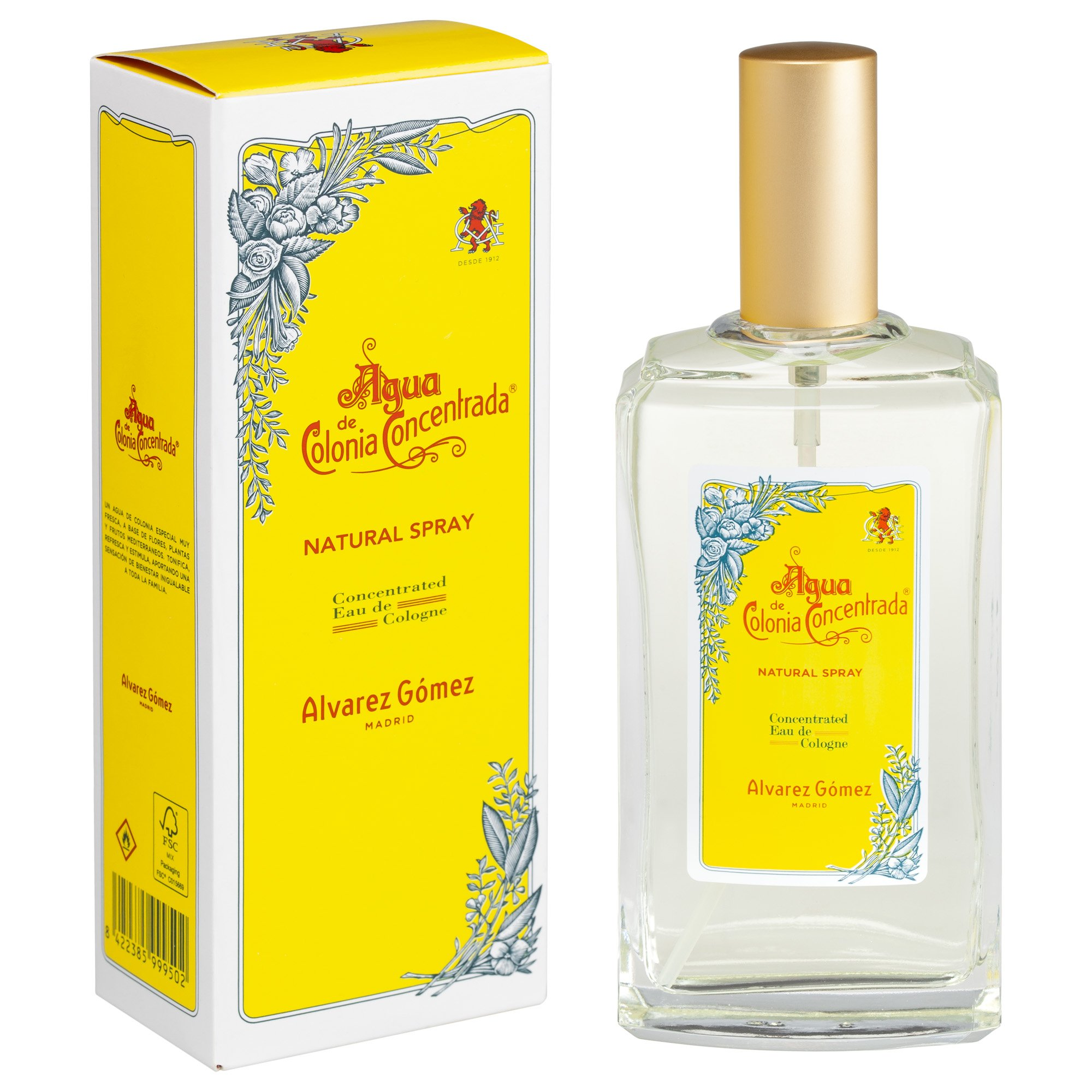 Alvarez Gomez - Agua de Colonia Rellenable en Spray - 150 ml product image