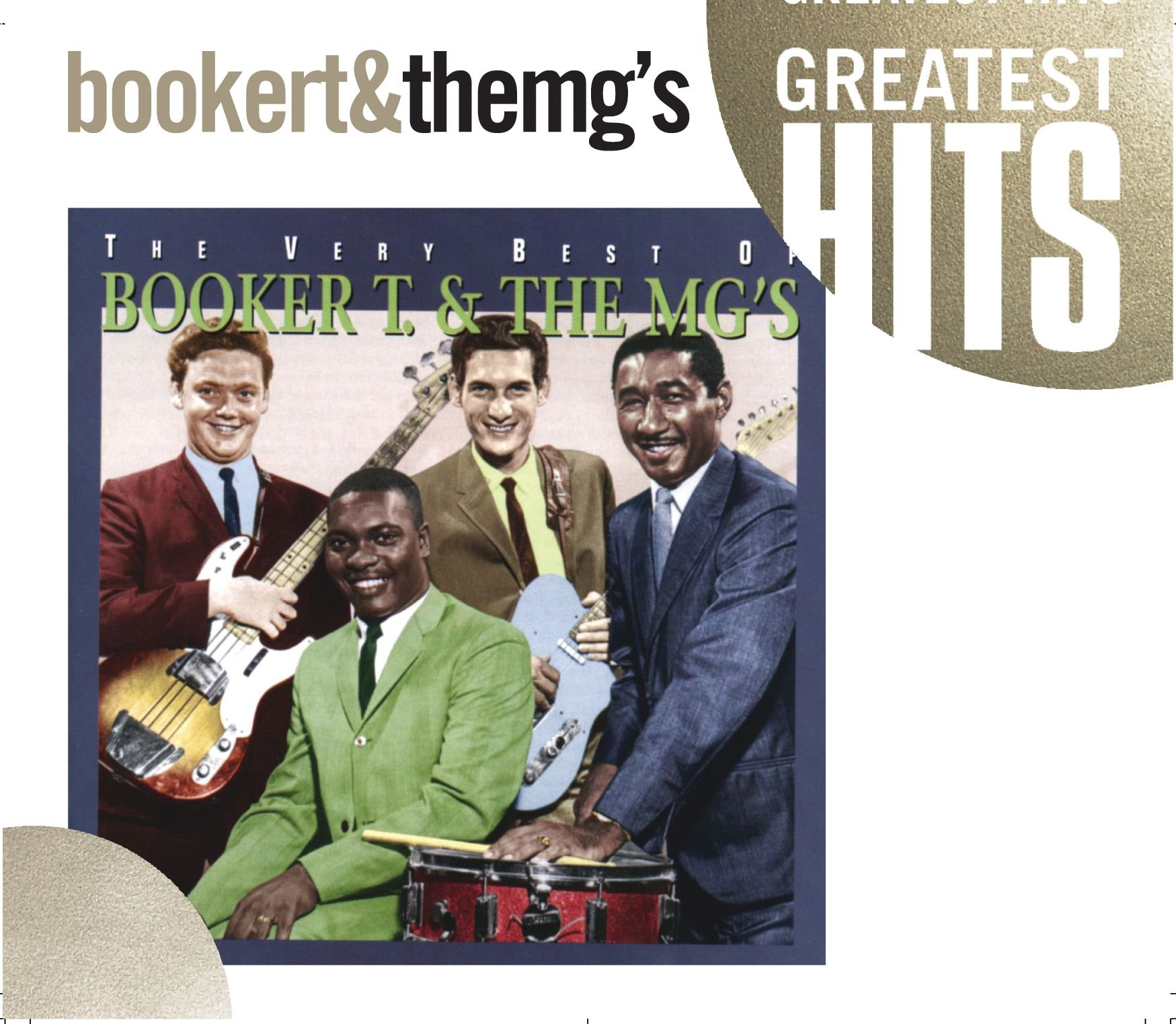 The Very Best of Booker T. & The MG's by Atlantic