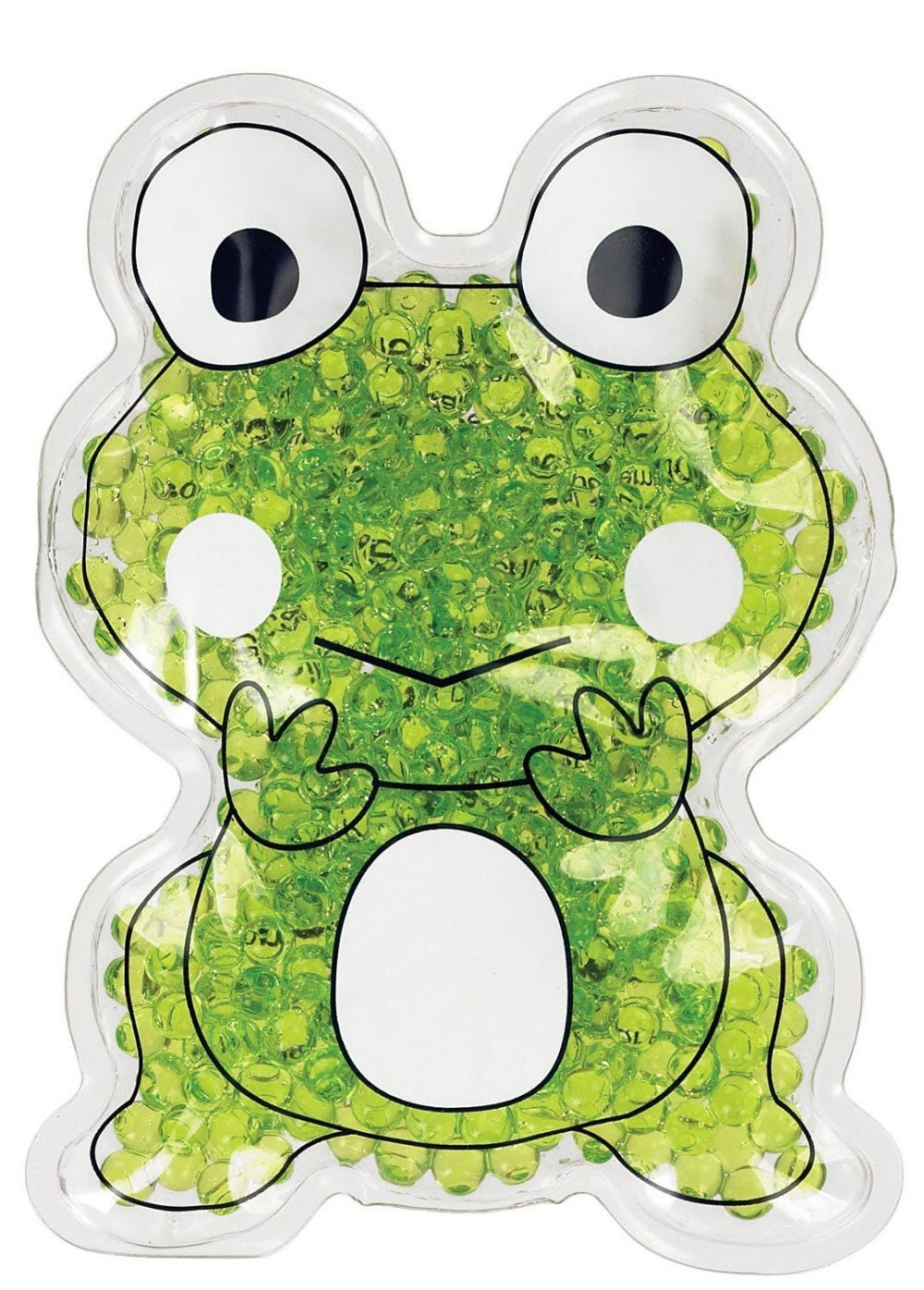 Therapearl Frog Ribbit Hot/Cold First Aid Pack Kids Green TP-RFROG1